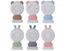 China LED Light Mini Portable USB Fan 2 In 1 Rabbit Shape No Noise Running Two Wind Speed on sale