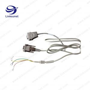 China 5 - 747905 - 2 D - SUB Soldering Wiring Harness LIYY 4 - 0.25 Custom Female 9 PIN Wiring Harness on sale