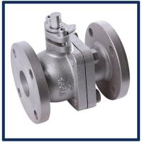 1PC Class 150 Reduced Bore Floating Ball Valve,1pc RP flanged end ss ball valve,flanged stainless steel ball valve