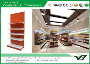 China Heavy Duty Retail gondola display , Supermarket Display Shelving 5 layers on sale