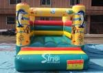 Indoor kids small seaworld inflatable jumping castle with slide made of lead free material from Sino Inflatables
