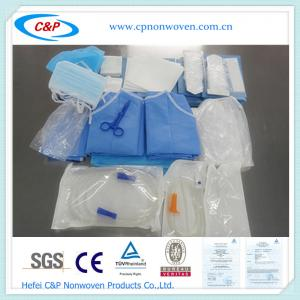 Quality OEM Disposable EO Sterilized Surgical Dental Drape Set For hospital/clinic for sale