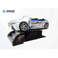 Racing Car 9D VR Game Machine Virtual Reality Chair With 3 DOF Dynamic Platform