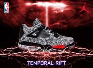 China Nike Jordan 4 Shoes Red White Black for Mens on sale