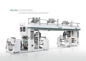 China Metalized Film / Paper Automatic Lamination Machine Constant Temperature Control on sale