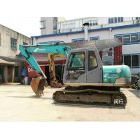 Second Hand Construction Machinery , Kobelco Sk100 Excavator 600mm Shoe Size