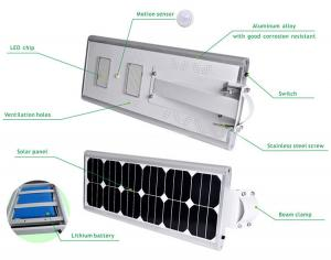China 40W China all in one Solar LED Street Light, all in one Solar LED Street Light factory on sale