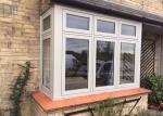 China Horizontal Open French Casement Windows with Aluminium Alloy Frame wholesale