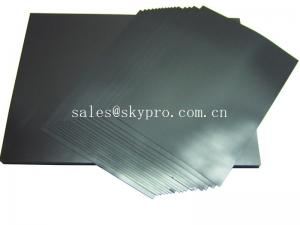 China Electrically conductive rubber sheeting roll with low electrical volume resitivity on sale