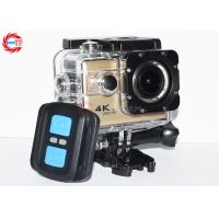 2.0 Inch WIFI Action Camera With Remote Control , Bike Helmet Action Video Camera