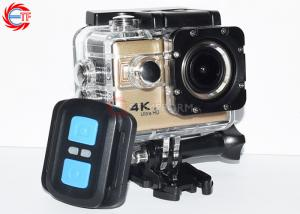 China 2.0 Inch WIFI Action Camera With Remote Control , Bike Helmet Action Video Camera on sale