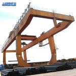 Pendant Control U Type Ace Mobile Crane , 3p 380v 50hz Double Beam Gantry Crane