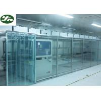 ISO Approved Clean Room Modular Soft Wall Aluminum Frame For OLED Production