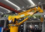 ABS certificate 8T15M Electro-Hydraulic Telescopic Crane with Remote Control