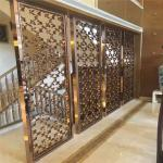 Hot sale laser cut metal screen dividers for door panel or wall panel