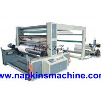 Self Adhesive Paper Roll Slitting Machine / Paper Rewinding Machine For POS Paper