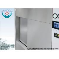 Single Sliding Door Pharmaceutical Autoclave With Fully 304 Chamber Steel Jacket