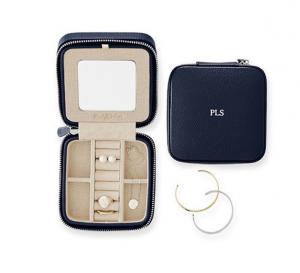 Quality caisse rouge en cuir de haute qualité de bijoux de voyage d'unité centrale de for sale