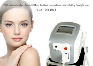 China Cosmetic Big Power 808nm Diode Laser Hair Removal Machine 7 Language For Option on sale