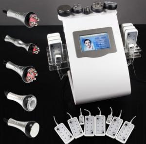 China Lipo Diode Laser Vacuum RF Ultrasonic Liposuction Cavitation Slimming Machine 5 in 1 Multi on sale