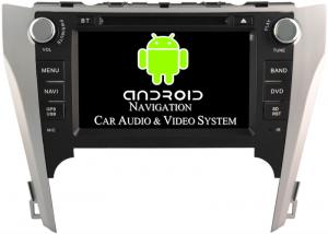 China Android Car DVD Player 8 Toyota Radio GPS , Toyota Camry GPS Navigation System 2012 2013 2014 on sale