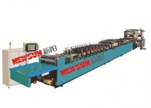China RZD-A Series High-speed (tri-servo)Tri-side Sealing Zipper Vertical Bag Making Machine on sale
