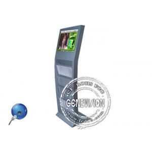 China 19 inch WIFI Magazine Holder 3G Digital Signage Kiosk Android Totem with Book Holder on sale