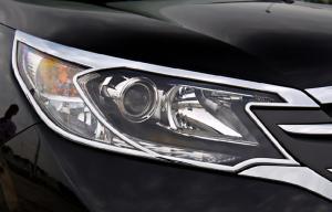 China ABS Chrome Headlight Bezels for Honda CR-V 2012 Headlamp Frame on sale