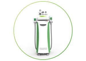 China 5 handles rf cavitation 2 kryolipolyse handles working simultaneously kryo slimming weight loss machine on sale
