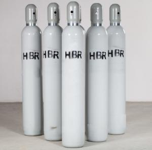 China HBr Gas Hydrogen Bromide Gas Ultra Pure Specialty Gases on sale