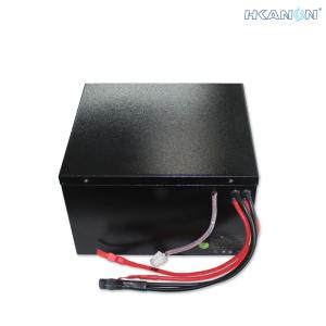 China E - Bike Lithium Ion 72v Battery Pack 30ah Deep Cycle With Metal Iron Box on sale