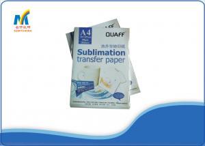 China A4 Size Inkjet Heat Transfer Paper Dress Sublimation Printing Paper on sale
