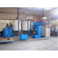 China PU Foam Making Machine With Clamp Long Foam Block Unit 2000mm/min~7000mm/min on sale