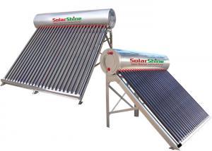 China 155 - 450 L Capacity Vacuum Tube Solar Water Heater , Passive Solar Water Heater on sale