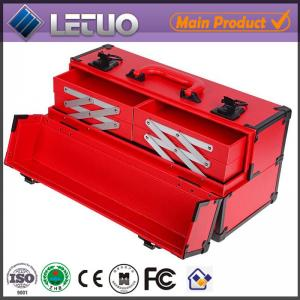 China LT-MCP0130 alibaba china online shopping new product aluminum bag makeup case with drawers on sale
