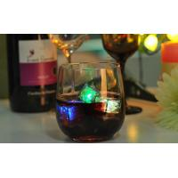 15oz Crystal Water Glass Tumbler custom stemless wine glasses with Thick Bottom