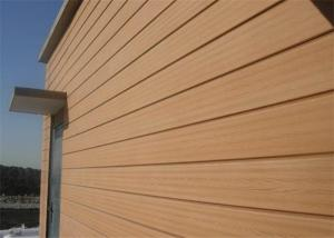 China Sound-proof Wood Plastic Composite Indoor & Outdoor Wall Cladding on sale