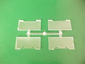 China Custom Transparent Mold Light Guide Plate LGP And Direct Gate on sale