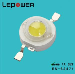 China 130LM Warm White 1W High Power LED module 3.2V - 3.4V For Spotlight on sale