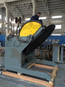 China Heavy Duty Tiltable & Rotary Welding Positioner SKF Bearing 2M Table VFD Control on sale