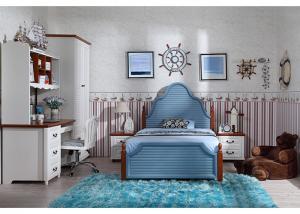 China Custom Childrens Bedroom Furniture Sets Korea Style With Veneer / Solid Wood on sale