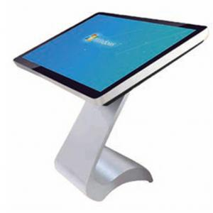 China Horizontal IR Digital Kiosks Touch Screen , Digital Signage Display Monitors 55 Inch 4K Android on sale