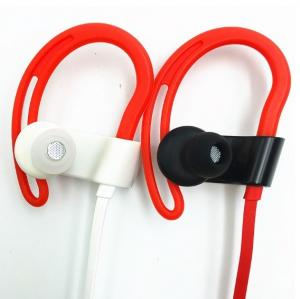 China Noise Reduction Sport Bluetooth Earphone With 110mAh Rechargeable Li Ion Battery on sale