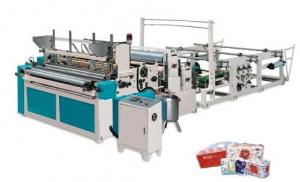 China Automatic Toilet Paper Roll and bathroom Roll Paper Making Machine on sale