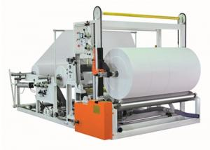 China Jumbo Roll Tissue Paper Production Machine Individual Pneumatic Driving on sale