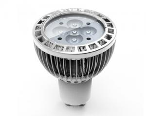 China 500 Lumens 5W GU10 CREE Aluminum Led Spot Lamp For Home, Exhibition and Meeting Rooms on sale