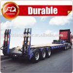 High quality Lowboy trailer/40T Lowbed trailer/Excavator transport semi trailer low bed semi trailer dimensions