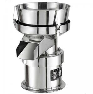 China High Frequency Round Single Deck Food Malt Flour Soybean Milk Separator Filter Vibrating Sieve Machine on sale