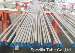 China Pickled / Annealed Stainless Steel Tubing , 316l Stainless Steel Tubing Seamless on sale