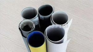 China 1.2mm のガラス繊維はポリ塩化ビニール水障壁の膜ポリ塩化ビニールの防水シートをあらゆる色補強しました on sale